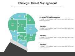 Strategic Threat Management Ppt PowerPoint Presentation Show Graphics Download Cpb