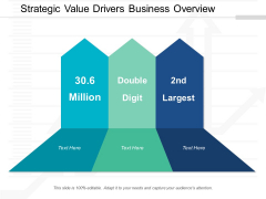 Strategic Value Drivers Business Overview Ppt Powerpoint Presentation Layouts Infographic Template
