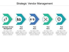 Strategic Vendor Management Ppt PowerPoint Presentation Professional Grid Cpb