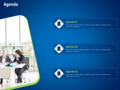 strategies distinguish nearest business rivals agenda ppt infographics summary pdf