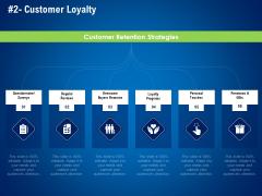 strategies distinguish nearest business rivals customer loyalty ppt show designs download pdf