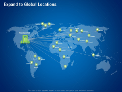strategies distinguish nearest business rivals expand to global locations ppt pictures infographics pdf