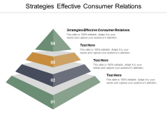 Strategies Effective Consumer Relations Ppt PowerPoint Presentation Pictures Designs Cpb
