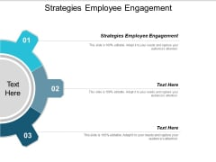 Strategies Employee Engagement Ppt PowerPoint Presentation Inspiration Example Cpb