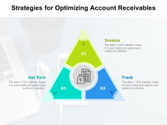 Strategies For Optimizing Account Receivables Ppt PowerPoint Presentation Ideas Topics