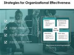Strategies For Organizational Effectiveness Ppt PowerPoint Presentation Model Files