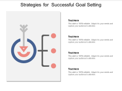 Strategies For Successful Goal Setting Ppt Powerpoint Presentation Portfolio Graphics Download