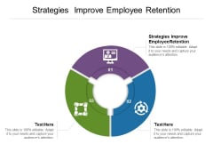 Strategies Improve Employee Retention Ppt PowerPoint Presentation Layouts Introduction Cpb Pdf