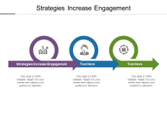 Strategies Increase Engagement Ppt PowerPoint Presentation Styles Ideas Cpb