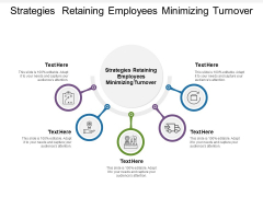 Strategies Retaining Employees Minimizing Turnover Ppt PowerPoint Presentation Professional Structure Cpb Pdf