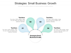 Strategies Small Business Growth Ppt PowerPoint Presentation Inspiration Summary Cpb