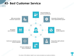 Strategies Take Your Retail Business Ahead Competition 3 Best Customer Service Pictures PDF