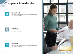 Strategies Take Your Retail Business Ahead Competition Company Introduction Ideas PDF