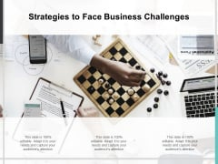 Strategies To Face Business Challenges Ppt PowerPoint Presentation Slides Gallery
