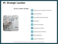 Strategies To Win Customers From Competitors Strategic Location Topics PDF