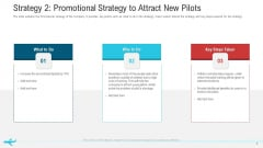 Strategy 2 Promotional Strategy To Attract New Pilots Guidelines PDF