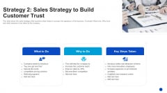 Strategy 2 Sales Strategy To Build Customer Trust Brochure PDF