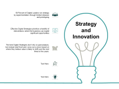 Strategy And Innovation Ppt PowerPoint Presentation Gallery Example