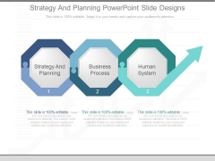Strategy And Planning Powerpoint Slide Designs