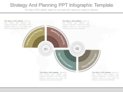 Strategy And Planning Ppt Infographic Template