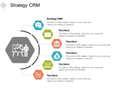 Strategy Crm Ppt Powerpoint Presentation Icon Structure Cpb