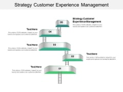 Strategy Customer Experience Management Ppt PowerPoint Presentation Icon Sample Cpb