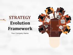 Strategy Evolution Framework Ppt PowerPoint Presentation Complete Deck With Slides