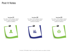 Strategy For Managing Ecommerce Returns Post It Notes Infographics PDF