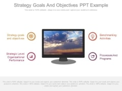 Strategy Goals And Objectives Ppt Example