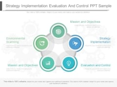 Strategy Implementation Evaluation And Control Ppt Sample