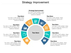 Strategy Improvement Ppt PowerPoint Presentation Pictures Guide