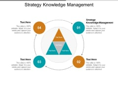 Strategy Knowledge Management Ppt PowerPoint Presentation Styles Good Cpb