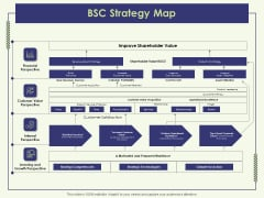 Strategy Map BSC Strategy Map Ppt Styles Design Ideas PDF