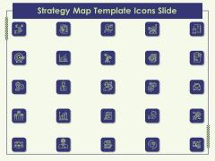 Strategy Map Template Icons Slide Ppt Portfolio Themes PDF