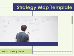 Strategy Map Template Ppt PowerPoint Presentation Complete Deck With Slides
