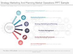 Strategy Marketing And Planning Ppt Sample