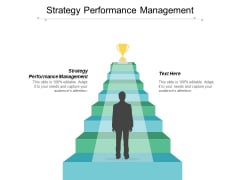 Strategy Performance Management Ppt PowerPoint Presentation Outline Background Cpb