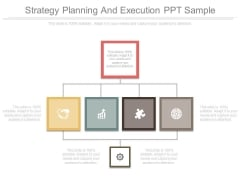 Strategy Planning And Execution Ppt Sample