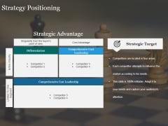 Strategy Positioning Ppt PowerPoint Presentation Styles Infographic Template