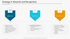 Strategy Staff Rewards And Recognition Template PDF