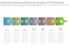 Streamlines Marketing Efficiencies Template Ppt Presentation