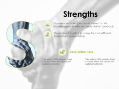 Strengths Ppt PowerPoint Presentation Infographic Template Topics