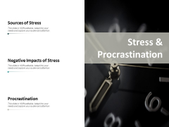 Stress And Procrastination Ppt PowerPoint Presentation Slides Sample
