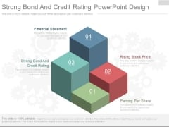 Strong Bond And Credit Rating Powerpoint Design