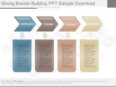 Strong Brands Building Ppt Sample Download