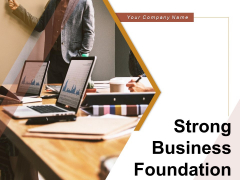 Strong Business Foundation Problem Sales Targets Ppt PowerPoint Presentation Complete Deck