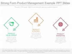 Strong Form Product Management Example Ppt Slides