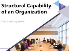 Structural Capability Of An Organization Information Planning Performance Ppt PowerPoint Presentation Complete Deck