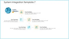 Structural Consolidation Procedure System Integration System Ppt Infographics Gallery PDF
