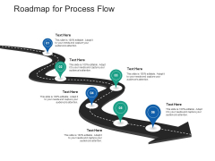 Structural Consolidation Solutions Roadmap For Process Flow Ppt Professional Infographics PDF
